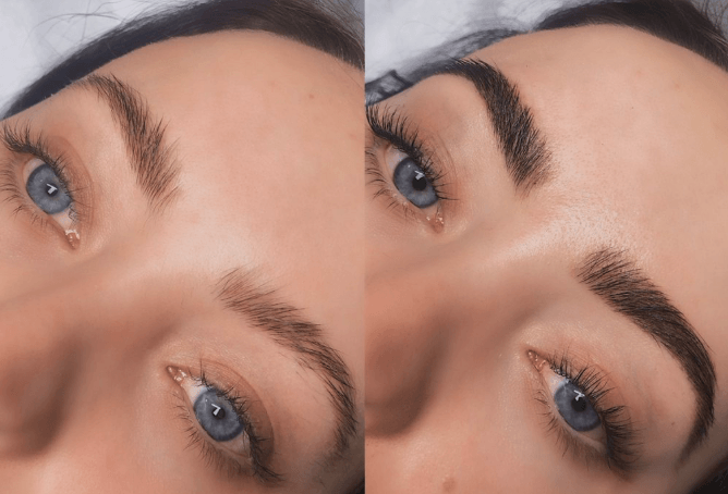eye lash lift